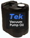--Tek-B vacuum booster / rotary piston pump fluid, 5 gallon